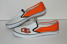 GameDay Concepts Oregon State Casual Sneakers,Wht/ORg/Black, Womens US Size 9