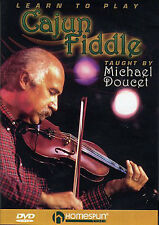 Learn To Play The CAJUN Fiddle Violin DVD Lesson Tutor