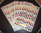 Sandylion Vintage Halloween Mini Nail Stickers Lot of 10 Maxi Sheets