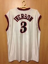 NBA PHILADELPHIA SIXERS 76ERS AUTHENTIC JERSEY CHAMPION ALLEN IVERSON #3