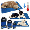 Pet Dog Cooling Mat Pad Cat Puppy Cool Gel Self Bed Non Toxic Summer Heat Relief