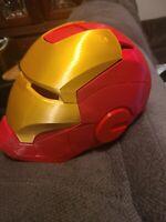 Iron Man helmet 3D Printed