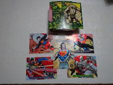 1993 DC SkyBox Bloodlines Set (81) + S1-S4 + True Superman Redemption Card (86)