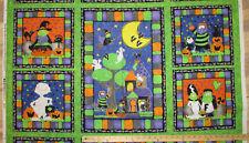 """Midnight Monsters Mummy Halloween Fabric Panel 23""""  #38244"""