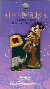 Disney Pin: Piece of Disney History 2005 Jungle Cruise (LE 2500)