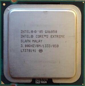 ESP Intel Core 2 Extreme Processor QX6850 (8M Cache, 3 GHz, 1333 FSB) Socket 775