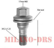 8 BULLONE PIATTO M12x1,25 L=55mm Ch17