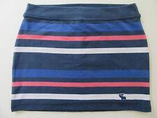 NWT Abercrombie Girls Skirt LARGE Tween Kids Knit Mini Leggings Topper $34.50