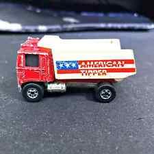 Hot Wheels 1975 Redline American Tipper Dump Truck Metal Base Hong Kong