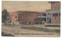BROWNSVILLE , Ontario , Canada , 1908 ; Corbet's Department Store