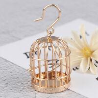 1Pc 1:12 Dollhouse Miniature Furniture Bird Cage For Dollhouse Decor Dirdcag Fw