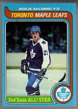 Borje Salming 1979-80 Topps #40 Toronto Maple Leafs Card GD356