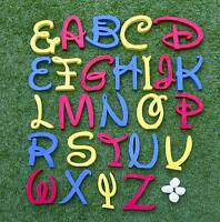 Disney Wooden Letter Freestanding Extra Large Personalized Alphabets Name Gift