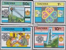 tanzanie 229-232 (complète edition) neuf avec gomme originale 1983 année mondial