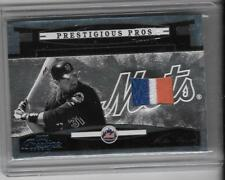 MIKE PIAZZA 2005 PRETIGE PRESTIGIOUS PROS 3 COLOR PATCH #3/5 -METS