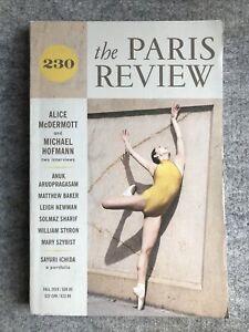The Paris Review : 230 : Fall 2019 : Alice Mc Dermott, Michael Hoffman Interview