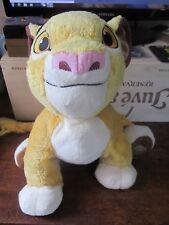"Superb 13"" Plush Simba from the Lion King Disney Store"