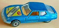 Matchbox Lesney Superfast No 51 Metallic Blue Citroen SM with YAMAHA label