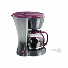 Domoclip Dom163gvi Cafetiere Électrique - bicolore Gris/violet