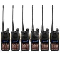 USA! 6X Baofeng GT-5 Ham Transceiver FM Dual VHF/ UHF PTT Two-way Radio >UV-82L