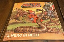 Vintage Masters of the Universe He Man Paperback Book A Hero In Need 1986 -used