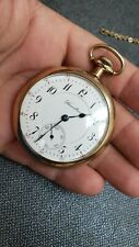 HAMILTON POCKET WATCH VINTAGE 16s 17 JEWEL 974 GRADE