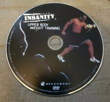 Insanity Upper Body Weight Training Disc Only DVD Beach Body Workout Replacement