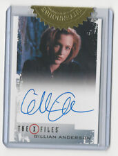 Gillian Anderson as Dana Scully The X Files Archives Classic Autograph Card Auto