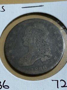 1836 US Capped Bust Half Dollar!!