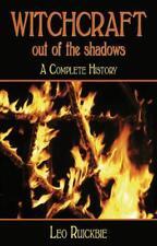 sorcellerie HORS the Shadows: A Complete History par Leo Ruickbie Livre de poche