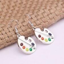 Colour Palette Malset Dangle Earrings  Brush Painter Artist Paint LI