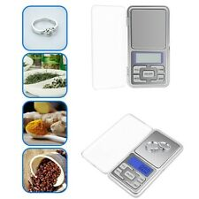 Mini Electronic Scales Coffee Jewelry Weighing Scale Pocket Digital LCD Display
