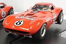 CARRERA 27413 BILL THOMAS CHEETAH NEW EVOLUTION 1/32 SLOT CAR IN DISPLAY CASE