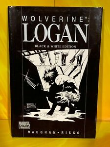 Marvel Knights - Wolverine: Logan Black & White (Hard Back Graphic Novel)