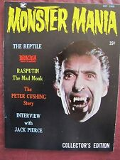 Monster Mania # 1  The Reptile, Dracula, Prince of Darkness & Peter Cushing