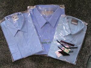 Boys School Shirt, Longsleeve, Blue