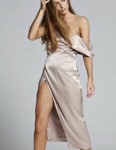 Maurie & Eve Noa Dress - Mushroom Size 8
