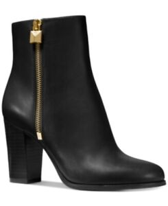 Michael Michael Kors Frenchie Bootie Black 9 M