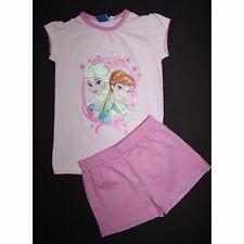 DISNEY pyjashort LA REINE DES NEIGES 4-5 ou 6-7 ans pyjama pyjacourt rose NEUF