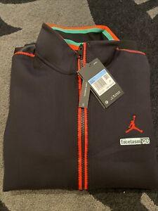 Jordan Why Not? X Facetasm Mens Tracksuit Jacket Stadium Black Size M
