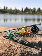 Set of 5 Bixby Fly Fishing Stripping Clips - Strip Basket Alternative