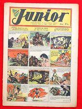 Coquelicot journal du JUNIOR n°23. Juillet 1947. SPE. Pellos, Tarzan...Bel état