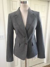 NWT The Limited The Perfect Travel Suit Blazer Jacket Gray 0
