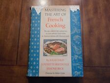 Mastering The Art Of French Cooking By Julia Child 1967, HC.
