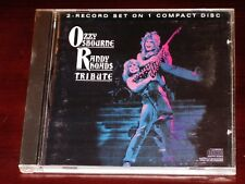 Ozzy Osbourne: Randy Rhoads Tribute CD 1987 CBS Records USA ZGK 40714 Original