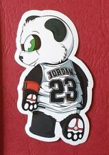 "Sticker Adesivo ""Sport Panda"" lucentezza-Optik Stickerbomb Skateboard Laptop"