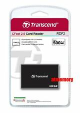 Transcend RDF2 Card Reader USB3.1 for CFast 2.0 US