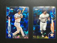 2020 Topps Chrome Sapphire Base Auto RC SP Parallels You Pick Complete Your Set