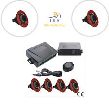 kit 4 sensori di parcheggio colore argento verniciabili filo paraurti bmw