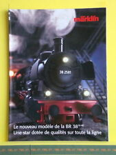Catalogue MARKLIN 200? F - Nouvelle BR 38 - 38 2541 en HO - Poster 16 pages